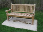 The Jubilee commemorative bench 2012